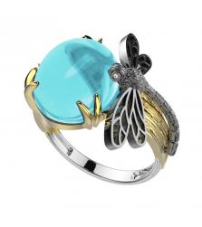Кольцо «Стрекоза»