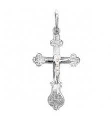 Подвеска крест с распятием