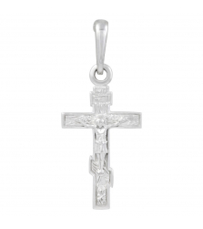 Подвеска православный крест с распятием
