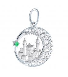 Подвеска «Мечеть РАШИДА в полумесяце»