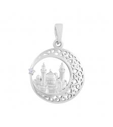 Подвеска «Мечеть Рашида» в полумесяце