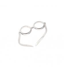 Кольцо «Очки»