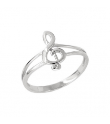Кольцо «Скрипичный ключ»