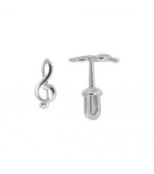 Серьги «Скрипичный ключ»