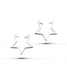 Серьги пусеты «Звезды»