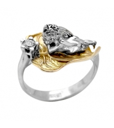 Кольцо «ангелочек»