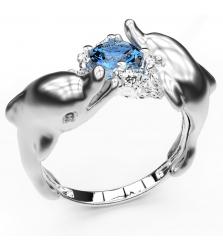 Кольцо «Дельфины»