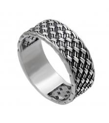 Кольцо «Плетенка»