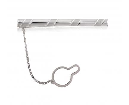 Зажим для галстука из серебра 925 пробы с  30-5-00-T-170020