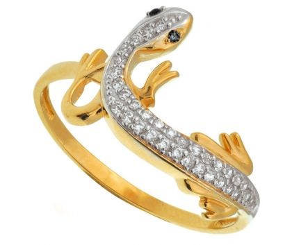Кольцо саламандра