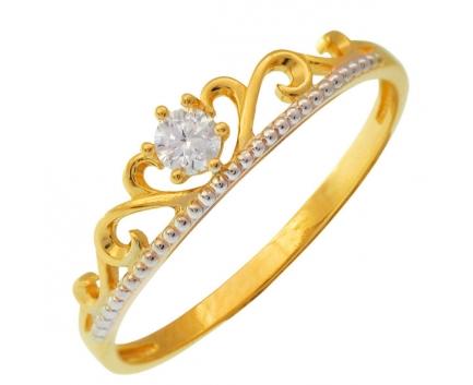 Детское кольцо корона