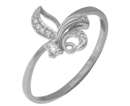 Кольцо  из серебра 925 пробы с  23-5-ZZ-R-082748