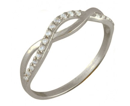 Кольцо  из серебра 925 пробы с фианитом 23-5-ZZ-R-082822
