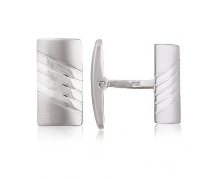 Запонка  из серебра 925 пробы с  30-5-OO-C-080007