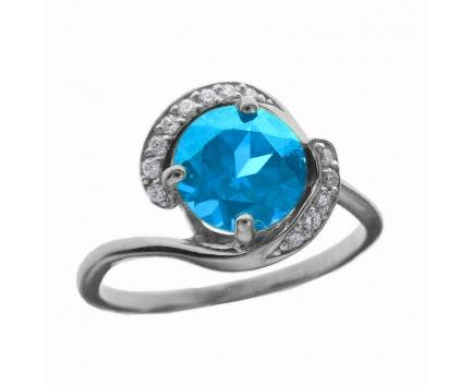 Кольцо  из серебра 925 пробы с  23-5-BZ-R-082272
