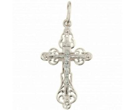 Подвеска «крест» из серебра 925 пробы с  23-5-OO-P-008164