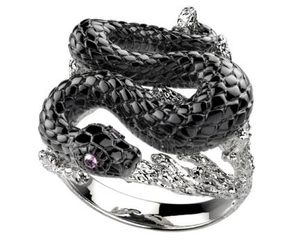 Кольцо  из серебра 925 пробы с  29-9-OO-R-001960