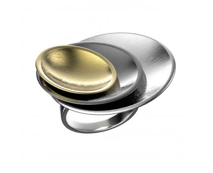 Кольцо  из серебра 925 пробы с  29-5-OO-R-010568