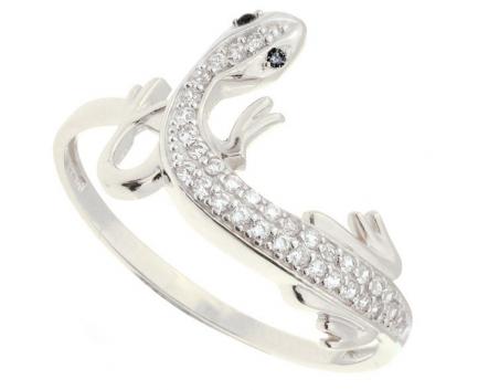 Кольцо Огненная саламандра