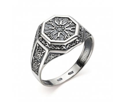 Печатка «таусень» из серебра 925 пробы с  30-5-OO-R-962011