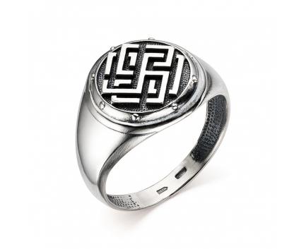 Печатка «родимич» из серебра 925 пробы с  30-5-OO-R-962016