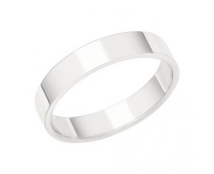 Кольцо «обручальное» европейка из серебра 925 пробы с  28-5-OO-R-002040