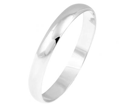 Кольцо «обручальное» классическое 4мм. из серебра 925 пробы с  23-5-OO-R-8287-40