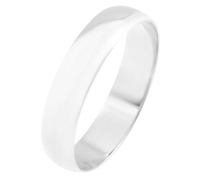 Кольцо «обручальное» классическое 5мм. из серебра 925 пробы с  23-5-OO-R-8287-50