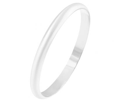 Кольцо «обручальное» классическое 2,5мм. из серебра 925 пробы с  23-5-OO-R-8287-25